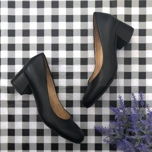 Naturalizer Donelle black block heel